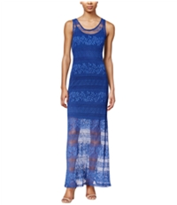 Bar Iii Womens Lace Maxi Dress