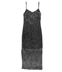 Bar Iii Womens V-Neck Slip Sheath Dress