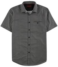 Alfani Mens Slim Printed Button Up Shirt