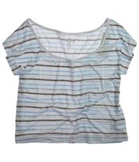 Ecko Unltd. Womens Open Nk Painted Stripe Graphic T-Shirt