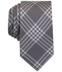Bar Iii Mens Canton Plaid Self-Tied Necktie