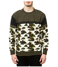 Staple Mens The Militech Crewneck Sweatshirt