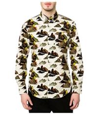 Staple Mens The Militech Ls Button Up Shirt