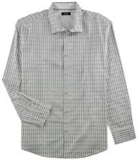 Alfani Mens Monty Herringbone Button Up Shirt