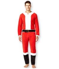 Briefly Stated Mens Santa Union Bodysuit Jumpsuit Pajama