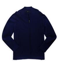 Alfani Mens Horizontal Ribbed Pullover Sweater