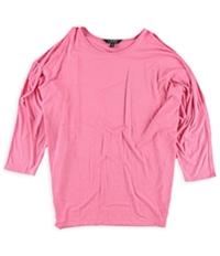 Ralph Lauren Womens Cutout-Shoulder Knit Blouse