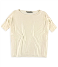 Ralph Lauren Womens Foil Knit Basic T-Shirt
