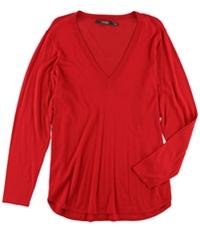 Ralph Lauren Womens Plus Size Silk V-Neck Pullover Sweater