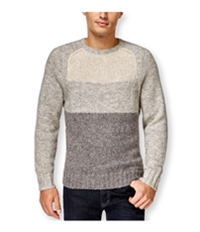 Club Room Mens Colorblock Crew-Neck Knit Sweater