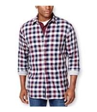 Club Room Mens Plaid Shirt Jacket