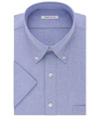 Van Heusen Mens Oxford Button Up Dress Shirt