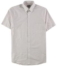 Van Heusen Mens Grid Button Up Dress Shirt