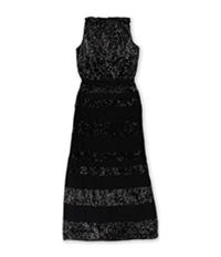 Ralph Lauren Womens Sequin Gown Dress