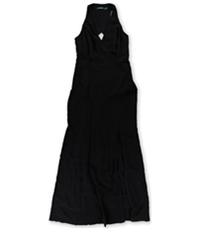Ralph Lauren Womens Stretch-Crepe Gown Dress