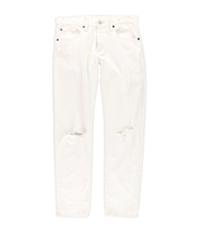 Ralph Lauren Womens Ripped Boyfriend Fit Jeans