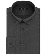 Dkny Mens Performance Active Stretch Button Up Dress Shirt