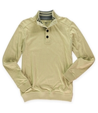 Club Room Mens Solid Henley Sweater