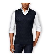 Club Room Mens Merino Textured Argyle Sweater Vest