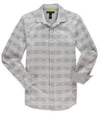 I-N-C Mens Retro Slim Fit Button Up Shirt