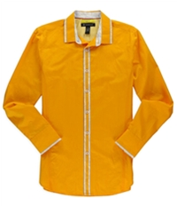 I-N-C Mens Slim Fit Button Up Shirt