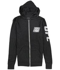 Ufc Womens Distressed Logo Hoodie Sweatshirt