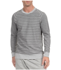2(X)Ist Mens Terry Striped Thermal Sweater