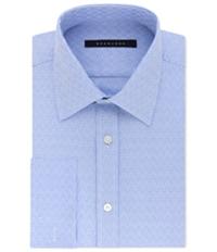 Sean John Mens Textured Button Up Dress Shirt