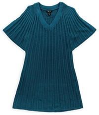 Style & Co. Womens Cable Knit Sweater Vest