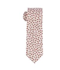 Bar Iii Mens Slim Foliage Self-Tied Necktie