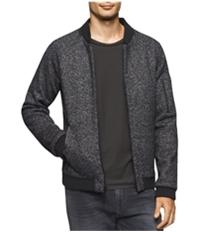 Calvin Klein Mens Multi-Tone Bomber Jacket