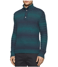 Calvin Klein Mens Space Dyed Knit Sweater