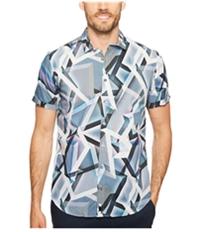Calvin Klein Mens Abstract Button Up Shirt