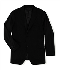 Perry Ellis Mens Pinstripe Two Button Blazer Jacket