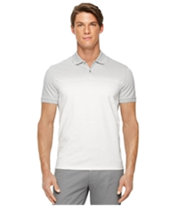 Calvin Klein Mens Engineered Striped Rugby Polo Shirt