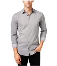 Calvin Klein Mens Geometric Button Up Shirt