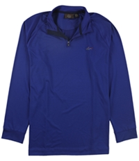 Tasso Elba Mens Ls Qrtr Zip Raglan Track Jacket Sweatshirt