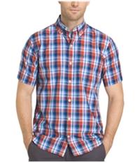 Izod Mens Breezy Button Up Shirt