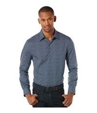 Perry Ellis Mens Micro Dot Button Up Shirt