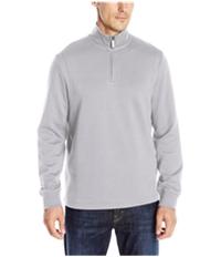 Perry Ellis Mens Quarter-Zip Knit Sweater