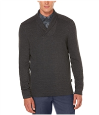 Perry Ellis Mens Textured Knit Sweater