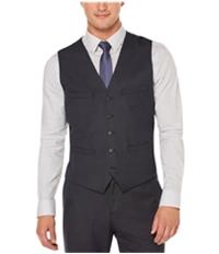 Perry Ellis Mens Techno Slim Fit Five Button Vest