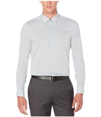 Perry Ellis Mens Fine Stripe Button Up Shirt