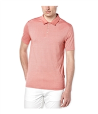Perry Ellis Mens Thin Stripe Travel Luxe Rugby Polo Shirt