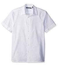 Perry Ellis Mens Textured Button Up Shirt