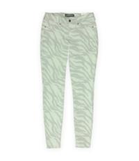 Ecko Unltd. Womens Animal Zebra Jegging Skinny Fit Jeans