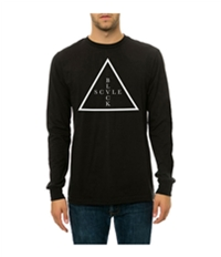 Black Scale Mens The Addition Ls Graphic T-Shirt