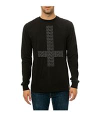 Black Scale Mens The Secrets And Lies Ls Graphic T-Shirt