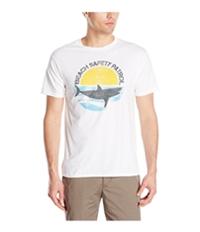 G.H. Bass & Co. Mens Beach Safety Patrol Graphic T-Shirt