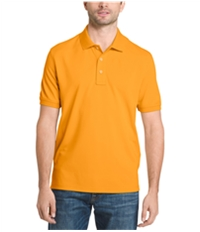 G.H. Bass & Co. Mens Pique Performance Rugby Polo Shirt